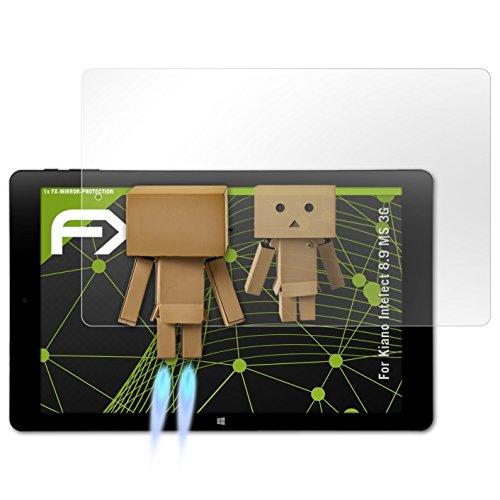atFolix Displayfolie für Kiano Intelect 8.9 MS 3G Spiegelfolie, Spiegeleffekt FX Schutzfolie