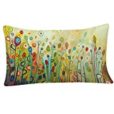 esailq Cute diseño de flores sofá cama casa decoración Festival