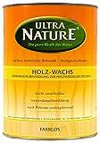 Ultranature Holzwachs 2,5L farblos Bienenwachs Holz Wachs innen