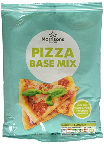 Morrisons Pizza Base Mix, 145 g, Pack of 12