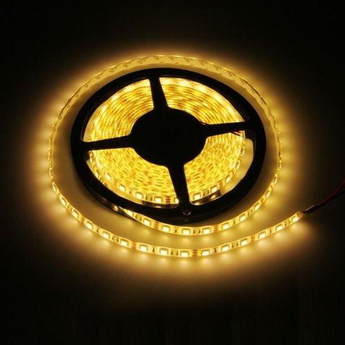 Preisvergleich Produktbild Ecloud Shop Lichterkette 300 5050 SMD LED Strip Leiste Streifen Wasserdicht 5M Warmweiß