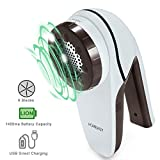 Best Clothes Shavers - Lint Remover Electric HOMEASY Rechargeable Fabric Shaver Fuzz Review