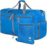 Bago Duffle Bag For Travel Luggage Gym Sport Camping - Lightweight Foldable Into