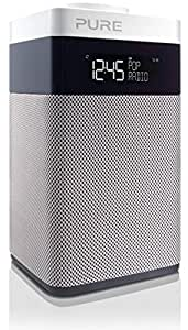 Pure POP Midi BT (DAB/DAB+ Digitale e FM-Radiosveglia con Bluetooth) Bianco