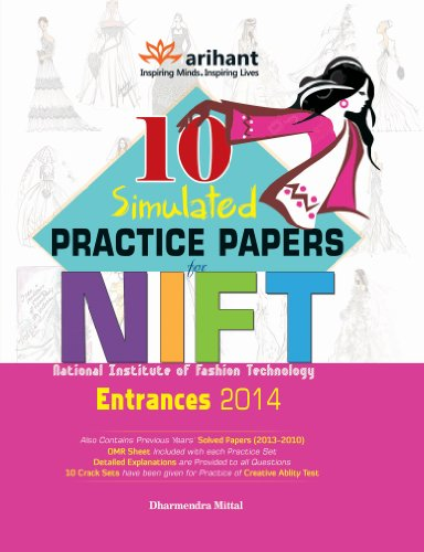 10 Simulated Practice Papers for NIFT Entrances 2013