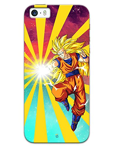 iPhone SE Cases & Covers - Dragon Ball Z Goku Raging Blast Case by myPhoneMate - Designer Printed Hard Matte Case - Protects from Scratch and Bumps & Drops.  available at amazon for Rs.439