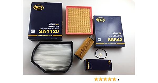 Ölfilter Luftfilter Pollenfilter Slk R170 200 200 Kompressor 230 Kompressor Auto