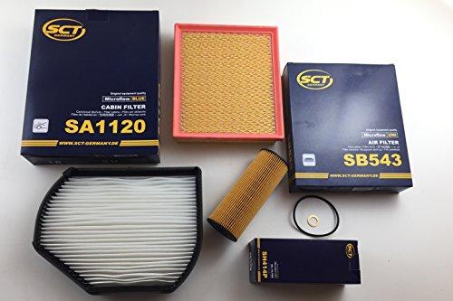Ölfilter Luftfilter Pollenfilter SLK R170 200 200 Kompressor 230 Kompressor