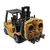 TXXCI 1:10 Rahmen RC Gabelstapler-Simulation Fahrzeuge Bauholz Zupacken Raupenketten Ingenieur Fahrzeug Spielwaren