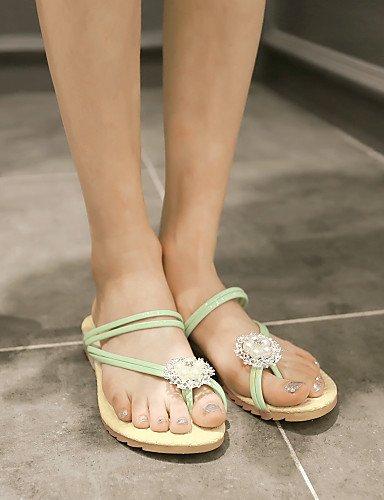 49b28e67ef82b7 ... ShangYi Sandaletten für Damen Damenschuhe-Sandalen-Outddor   Kleid    Lässig-Kunstleder- ...