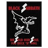 Black Sabbath Sold Our Souls Official Patch (8cm x 10cm)