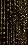 #9: Pindia Fancy Kite Sparkling Plastic Strings Bead Hanging Curtain - 7ft, Golden