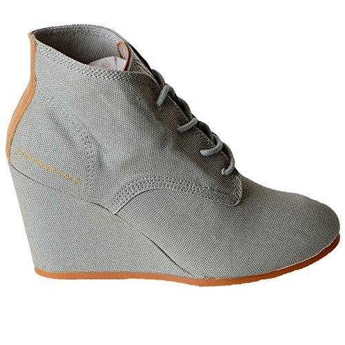 Chaussure Eleven Paris Lanacan Gris Wash Gris