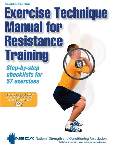 Read]PDF Exercise Technique Manual for Resistance Training (Book DVD