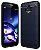 #9: Moto G5s Plus Cover [5.5 inch August 2017], Original Rugged Armor Shock Proof TPU Back Case for Moto G5sPlus Mobile Phone, Blush Blue by Golden Sand