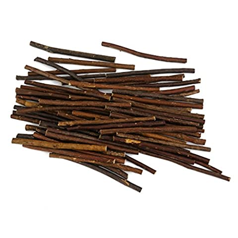 Natural Branch Wooden Sticks for DIY Art Crafts 3-5mm Pack of Approx.100pcs