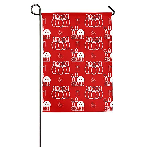 Sport Family Party Patio Yard House Garden Flags All-Weather Polyester Emblemize 12x18 inches ()