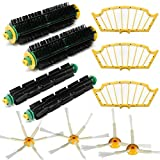 11pcs Filter Set mit der Bürste Pack für die iRobot Roomba Serie 510530540500550560580
