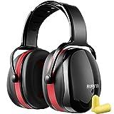 AVANTEK Gehörschutz, Kapselgehörschutz mit höchster Dämmung (34 dB NRR), Ohrstöpseln und Tragebeutel, flexibler Kopfbügel für Stabilität und komfortablen Sitz