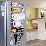 MERRYHOME Multiuse Multilayer-Kühlschrank Seitenregal Aufbewahrungsbügel Oganizer Tool