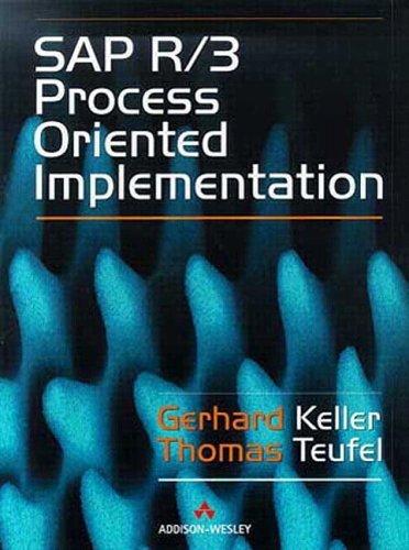SAP R/3 Process Oriented Implementation: Iterative Process Prototyping by G. Keller (1998-07-21) par G. Keller;T. Teufel