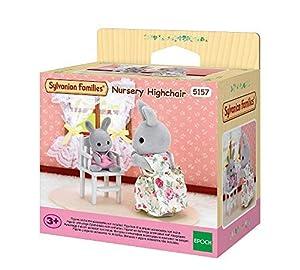 SYLVANIAN FAMILIES- Nursery Highchair Mini Muñecas y Accesorios, Multicolor (Epoch 5157)