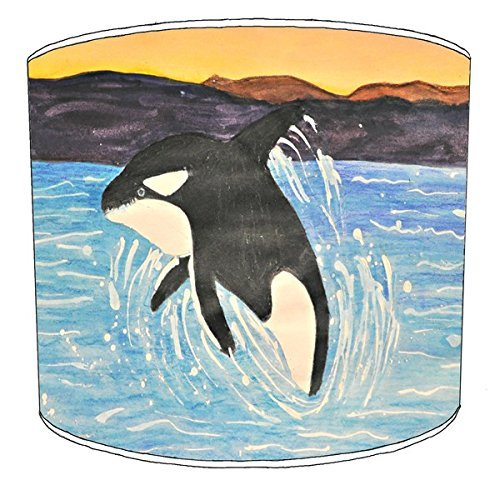 20,5cm Decke Killer Whale orca Print Lampenschirme 8 -