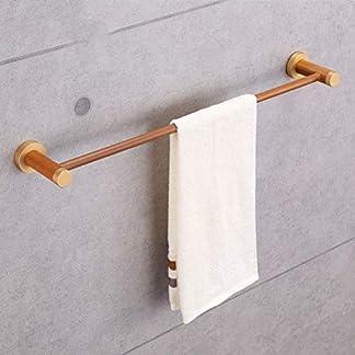 51n%2BKlPyUOL. SS324  - Udane Estante Exquisito Toallero a Prueba de Agua, a Prueba de Humedad, toallero de Madera baño residencial, Inodoro de Madera montado en una Pared toallero toallero de Pared