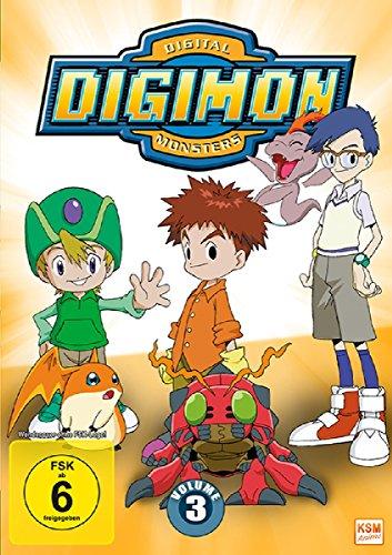 Digimon Adventure 01 (Volume 3: Episode 37-54) [3 DVDs]