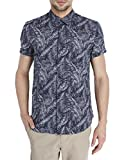 Jack & Jones Men's Casual Shirt (5713230219344_12112297Navy Blazer_Medium)