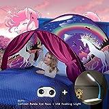 Tiendas de ensueño, Dream Tents, Carpa de Ensueño Wizard World, fantasía interior de la cama redes de regalo, Children Play Cama Tienda de Campaña (Unicornio)
