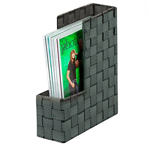 honey-can-do-ofc-04481-woven-magazine-file-holder-375-by-10-by-125-inch-salt-pepper