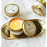 SMAQZ Aromatherapy CandlesSoy WaxFragrance CandleOils Vegetable Waxes Vanilla Coconut Milk