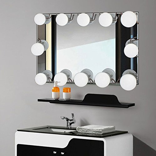 dressing table lighting. Binen Hollywood Style LED Vanity Mirror Lights Kit Dressing Table Light, Light With Lighting