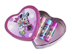 Lip Smacker Disney Minnie and Daisy Heart Tin Box - 3 Piece