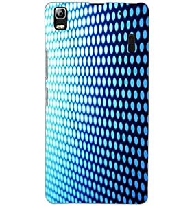LENOVO A7000 PLUS PATTERN Back Cover by PRINTSWAG