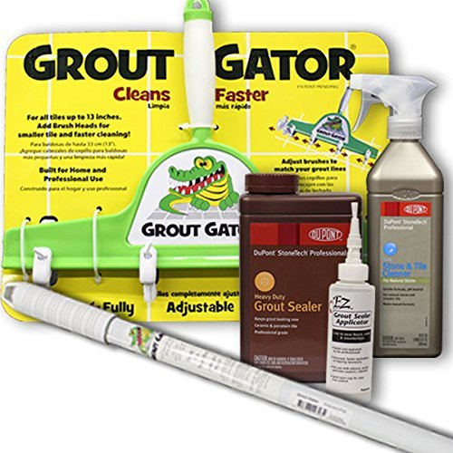 Grout Seal (NEW!!! GROUT GATOR BUNDLE KIT - Deep Clean & Seal by Grout Gator)