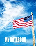 Best Decals for the Wall Teen Books For Girls - My Notebook. For American Patriots. Blank Lined Planner Review