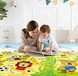 Zofey Play mat Baby mats Waterproof XL Extra Lare Size Double Side Anti