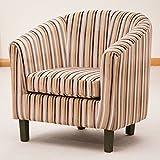 Sofa Collection Amboise Striped Tub Chair