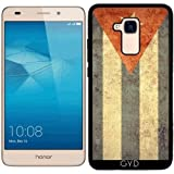 Coque Silicone pour Huawei Honor 5C - Cuba Grunge Flag by Warp9