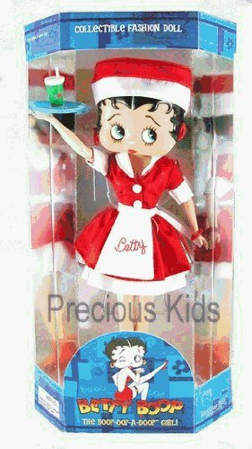 Betty Boop Collectible Fashion Doll - Diner Car Hop Outfit Style by Precious Kids by Precious Kids