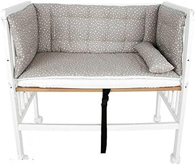 Minicuna para colecho bebés Mundi Bebé WithYou, modelo Beige. Balancín y convertible en Sofá