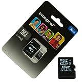 Acce2S Speicherkarte/Adapter mit integrierter microSDHC 16GB für Wiko Robby Micro SD HC + Adapt SD Integral