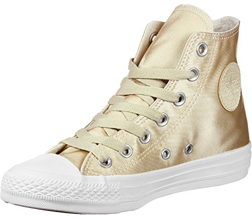 Converse Tutte Le Star Hi W Shoes Gold