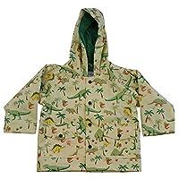 Powell Craft Boys Dinosaur Raincoat-Rain Mac.multicoloured Size: 6-7 Years