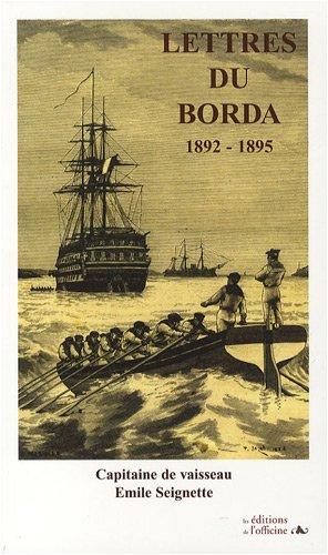 Lettre du Borda 1892-1895 : Capitaine de vaisseau