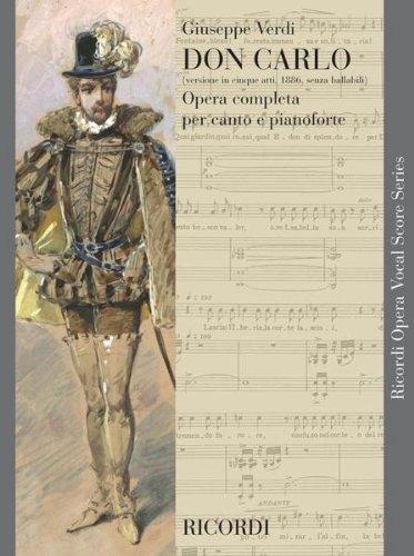 Preisvergleich Produktbild RICORDI VERDI G. - DON CARLO (5 ATTI) SENZA BALLABILI - CHANT ET PIANO