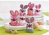 Häkel-Packung für 6 lustige Eierwärmer
