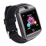 Bluetooth Smartwatch, SAINKO Intelligente Armbanduhr Fitness Tracker Armband Sport Uhr mit Schlafanalyse/Kameraaufnahme/Schrittzähler/GPS-Routenverfolgung Kompatibel mit Android Smartphone (Q18)